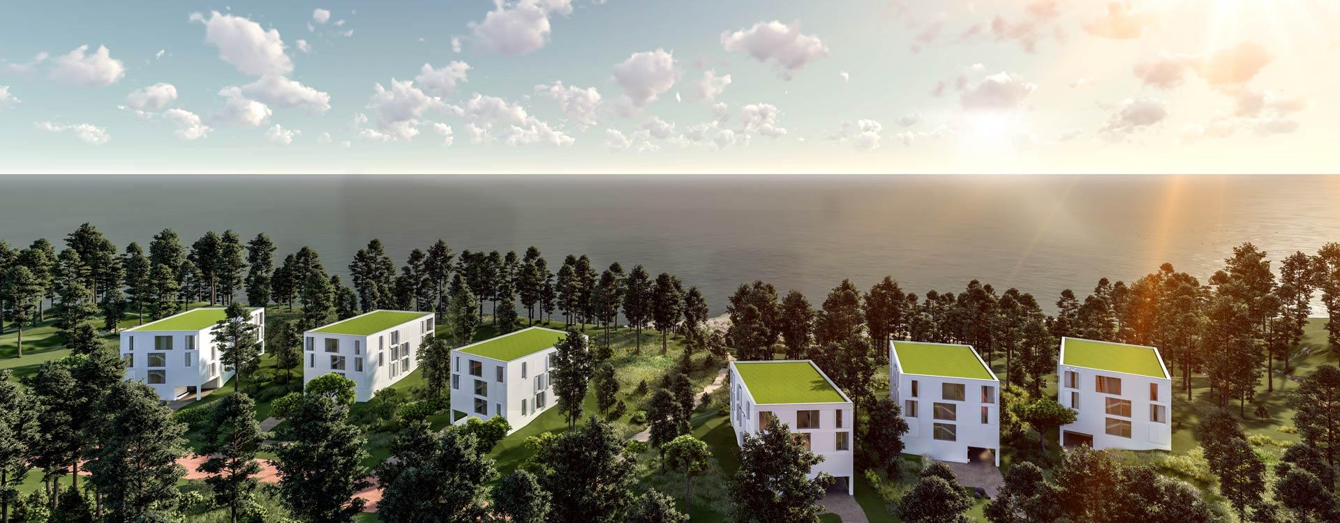 Neubauprojekt Kliffkante Usedom