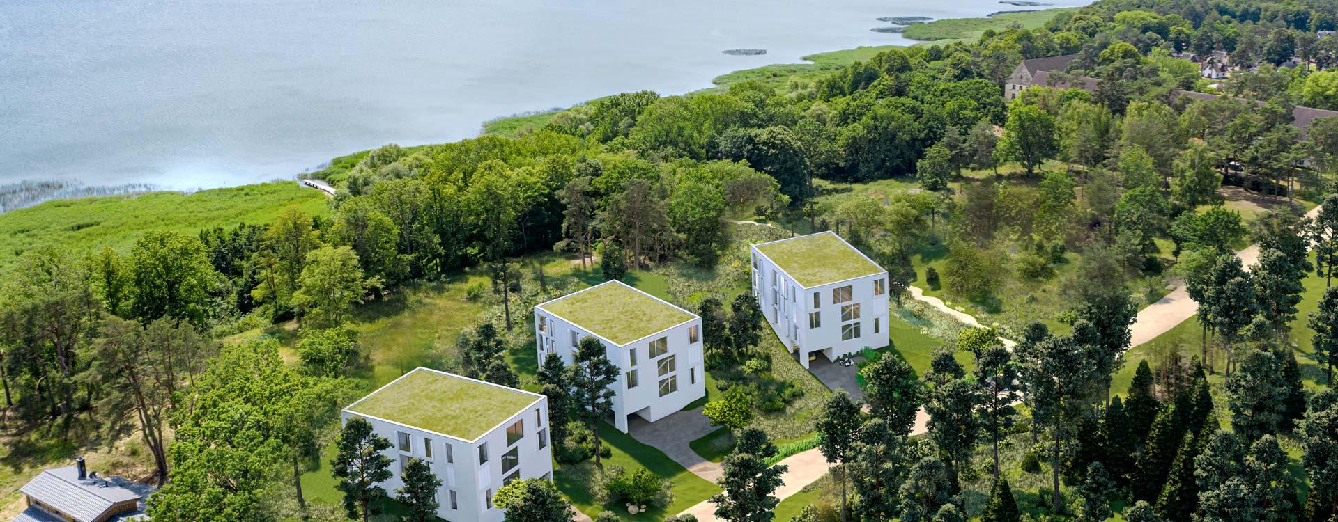 Neubauprojekt auf Usedom